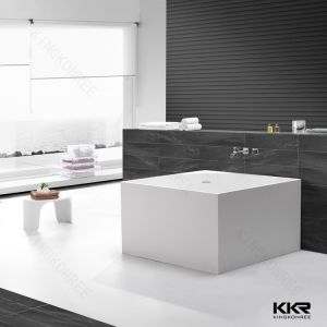 Italy Acrylic Freestanding Bathtub Solid Surface Sale Bathtub pictures & photos
