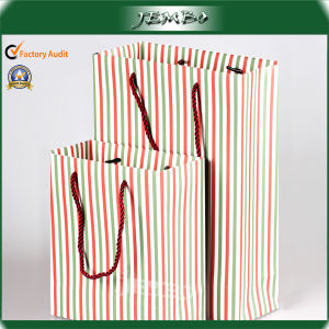 Factory Made Recycled Eco Friendly Gift Paper Promotion Bag pictures & photos