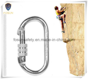 High Quality Self Locking Metal Carabiner for Sales pictures & photos