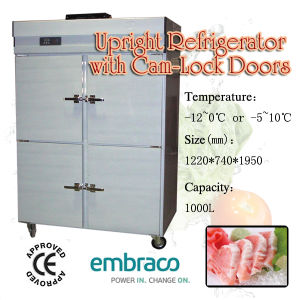 Kitchen Upright Refrigerator with Cam-Lock pictures & photos