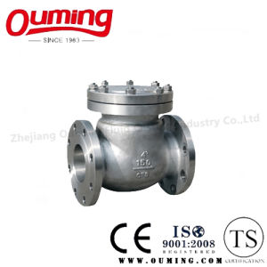 ANSI Standard Stainless Steel Flanged Check Valve pictures & photos