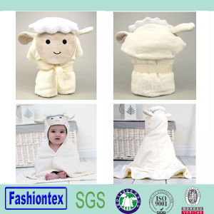 New Style Printed Pattern Soft Baby Hooded Towel Bath Towel pictures & photos