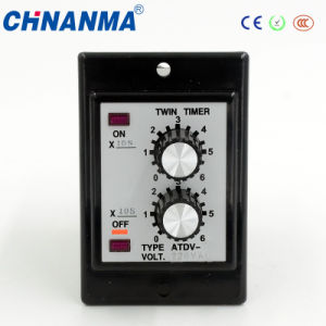 14pins 220V LED Display Intelligent Time Relay pictures & photos