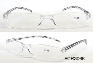 Plastic Eyewear Small Read Glasses Fashion Vintage Cheap Reading Glasses with Case pictures & photos