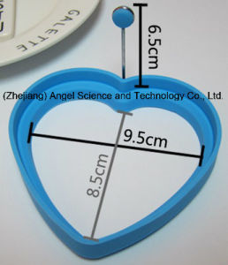 Hot Sale Heart Shape Silicone Egg Mold Silicone Egg Tool Se11 pictures & photos