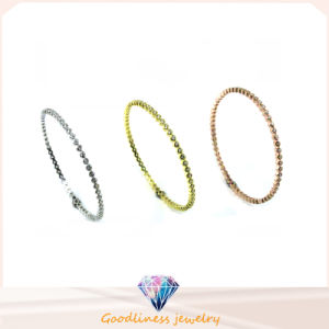 Wholesale Simple & Fashion 925 Silver Bangle (G41280) pictures & photos