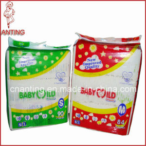 Breathable Backsheet Disposable Baby Diaper with PP Frontal Tape pictures & photos