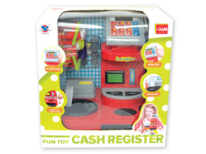 Electric Toy Cash Register Pretend Play Toy Set (H0009394) pictures & photos