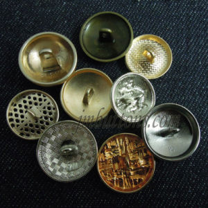 Fashion Style Sew Shank Custom Metal Button pictures & photos