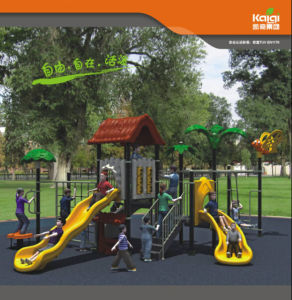 Children Medium Sized Forest Themed Children′s Playground - Perfect for Schools, Zoos, Parks and More (KQ10056A) pictures & photos