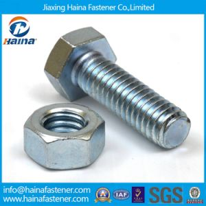 China Manufacture ANSI ASTM Grade2 Grade5 DIN934 DIN931 Hex Bolt and Nut pictures & photos