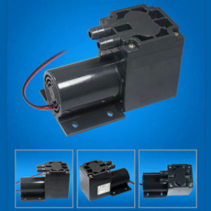 60L/M Electric Diaphragm Brush DC Motor Low Pressure High Flow Air Pump