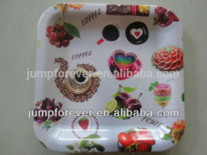 Square Clear Plastic Trays, Household Daily Fruit Promotiom
