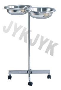 Stainless Steel Medical Trolly of Single Basin pictures & photos