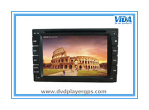 Universal 6.2′′ Two DIN Car DVD Player with GPS pictures & photos