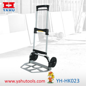 Aluminum Foldable Hand Truck Trolley with 120kg Load Capacity pictures & photos