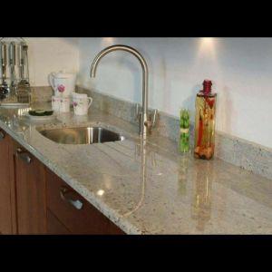 Kashmire White Granite Kitchen Countertops pictures & photos