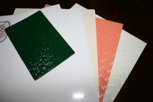 FRP/GRP Plate, FRP/GRP Grating, Fiberglass Solid Plate pictures & photos