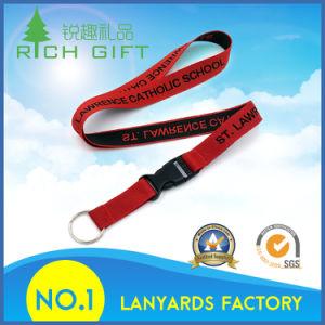Design Custom High Quality Low Price Logo Print Lanyard pictures & photos