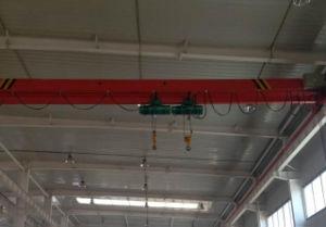 Lde Type Electric Single Girder Crane pictures & photos