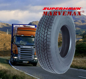 Hawk Tire Excellent Quality 12r22.5 Doublecoin Aeolus Brand pictures & photos