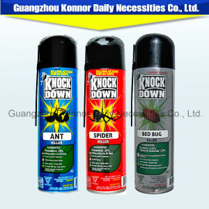 Knock Down 400ml Strong Effect Aerosol Mosquito Killer Insecticide Spray pictures & photos