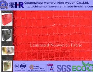 Factory Price Laminated Nonwoven / Non Woven Fabric for Shopping Bag / Handbag (NO. 11G008)