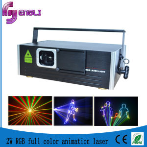 RGB 3D Animation Laser Light for Disco (HL-J086) pictures & photos