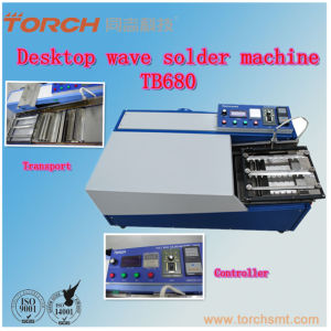 Desk Small Wave Soldering Machine for PCB Soldering pictures & photos