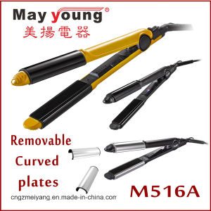Hair Straightener with Straighten and Curl 2 in 1 Design pictures & photos
