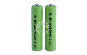 1.2V AAA 600mAh NiMH Rechargeable Battery Pack pictures & photos