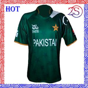 OEM Custom Design Wholesale Full Sublimated Printing Cricket Jersey pictures & photos