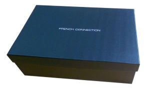 Branded Paper Gift Packaging Box for Shoes From China Supplier