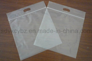 White Transparent Plastic Ziplock Packaging Bag pictures & photos