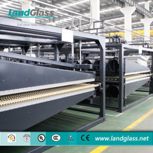Landglass Continuous Glass Toughening Machine pictures & photos