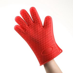 Heat Resistant Atoxic Eco Friendly Silicone Oven Gloves pictures & photos