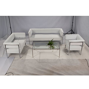 Excellent Le Corbusier Lounge Sectional Barcelona Sofa Set (FS-103) pictures & photos