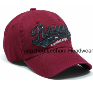 Custom Promotiona Washed Sport Golf Cap pictures & photos