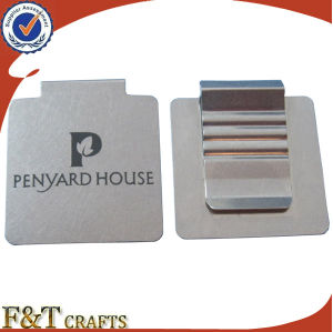 Cheap Blank Custom Square Shaped Flat Metal Paper Clip pictures & photos