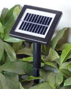 Glass PV Solar Light Controller with Battery Monocristal 15*13 pictures & photos
