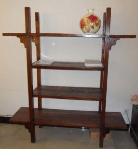 Chinese Antique Furniture Display Shelf pictures & photos