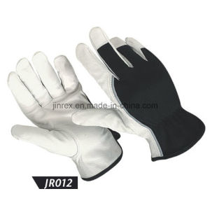 Promotional Pigskin Leather Mechanics Working Construction Safe Hand Glove pictures & photos