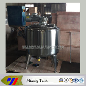 500L Electric Heating VFD Mixing Tank Blending Tank pictures & photos