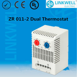 Small Size Bimetal No Nc Temperature Regulator Thermostat with CE Certificate for Electrical Control Cabinet (ZR 011) pictures & photos