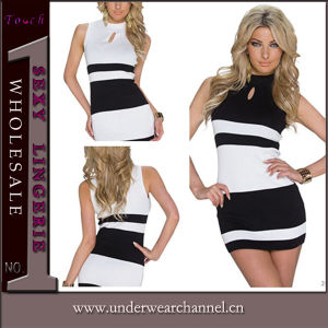 Sexy Women Mini Party Prom Bodycon Evening Cocktail Dress (N182) pictures & photos