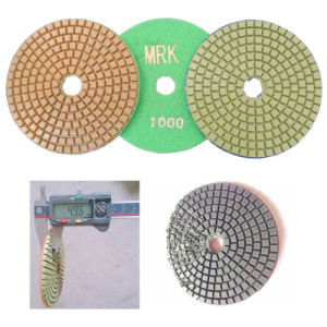 4 Inch Wet Polishing Pad Marble Flexible Polishing Pads pictures & photos