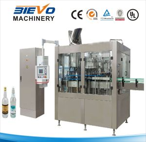 Glass Bottle Carbonated Beverage Packing Filling Machinery pictures & photos