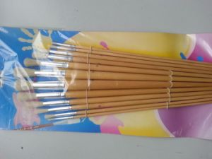 Wood Handle Round Bristal Hair Brush Set pictures & photos