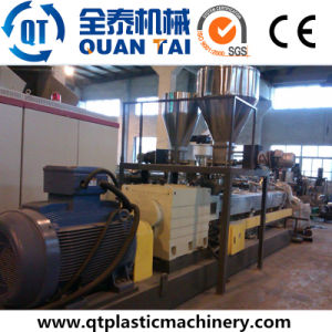 PE PP Filler Masterbatch Extrusion Line/ Compounding Machine/Double Screw Extruder pictures & photos