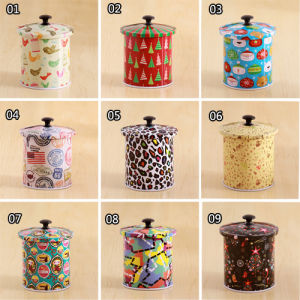 The Cup Shape Tea Tin Canister pictures & photos